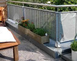 sichtblende balkon fari nin dünyası sonnenschutz balkon selber machen