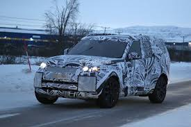 mini land rover 2017 land rover discovery camouflages even better during winter