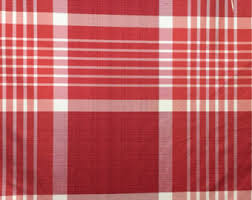 Red Plaid Upholstery Fabric Navy Blue Red Large Scale Plaid Upholstery Fabric Dark Blue