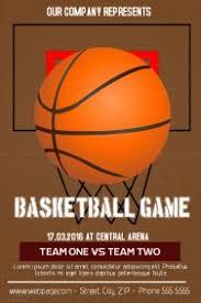 basketball c brochure template customizable design templates for basketball postermywall