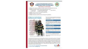 iafc releases guide for firefighter physicals firefighter news