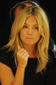 long hairstyles layered part in the middle hairstyle sienna miller love this cut mops n thangs pinterest