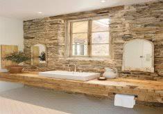 rustic farmhouse bathroom stylish small bathroom with brick wall