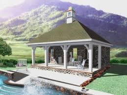 pool house plan pool house plans and cabana plans the garage plan shop