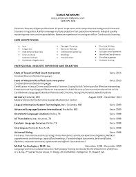 Interpreter Resume Samples by Newman Linguist Resume 2015