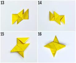 origami ninja throwing star smashed peas u0026 carrots