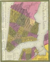 A Map Of New York City by Greene Street Map Index U2014 Greene Street