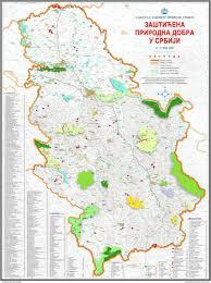 Map Of Serbia Publikacije Pe