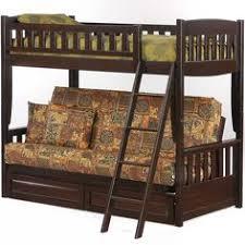 Bunk Bed Futon Combo Bunk Bed With Futon Night And Day Cinnamon Futon Bunk Medium Oak
