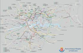 Google Maps Bus Routes by Maps Of Public Transport In Krakow Bus Lines Tram Lines