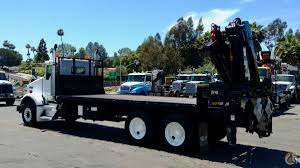 kenworth for sale in california xs 288 ep 3 hipro mounted to 2004 kenworth t800 flatbed crane for