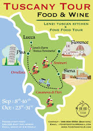 Lucca Italy Map by From Bangkok To Italy Tuscany Tour Food U0026 Wine Lenzi Tuscan
