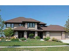 prairie style house plan 14469rk prairie style home plan luxury houses photo