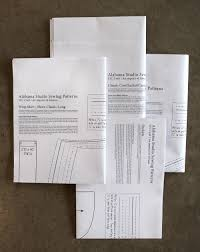 what size paper are blueprints printed on pattern cd printed patterns alabama chanin journal