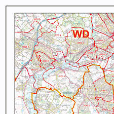 Maps C Map Of Greater London Districts And Boroughs Maproom Greater