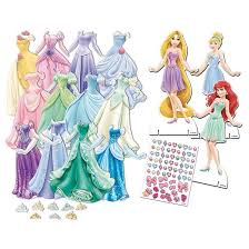 disney princess dress up paper doll target