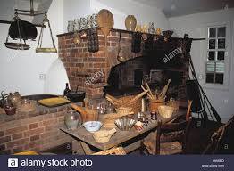 interior of raleigh tavern bakery colonial williamsburg virginia