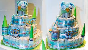 easy and fabulous diy diaper cake