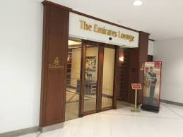 review the emirates lounge sydney miles down under