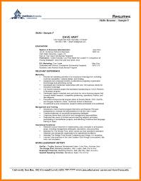 Entrepreneur Resume Template Skill Based Resume Examples