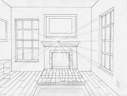 Interior House Drawing Best 25 Room Perspective Drawing Ideas On Pinterest