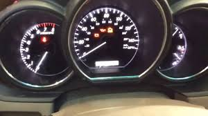 lexus rx400h dashboard how to lexus rx 350 maintenance required light reset youtube