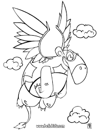flying dinosaur coloring pages hellokids com
