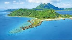 Map Of Bora Bora Bora Bora Cruises Cunard Cruise Line