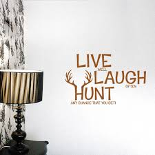 popular hunting wall decor buy cheap hunting wall decor lots from