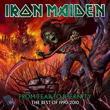 Iron Maiden Flag Iron Maiden From Fear To Eternity The Best Of 1990 2010