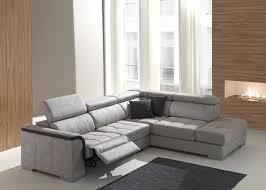 ottomane canapé canapé 2 places viktor ottomane droite 2 relax électriques les