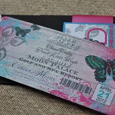 Boarding Pass Save The Date Boarding Pass Invitation Or Save The Date Design Fee Butterfly