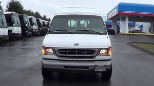 jeep van for sale northwest bus sales used 2002 ford e350 commtrans wheelchair lift