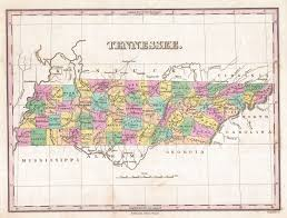 Chattanooga Tennessee Map by Tennessee Maps