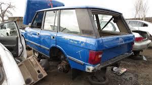 retro range rover junkyard find 1990 range rover