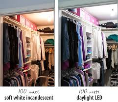 small closet lighting ideas clothes closet lighting comparison organization pinterest