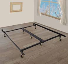 Roller Bed Frame New Adjustable King Heavy Duty Metal Sleeping Bed Frame
