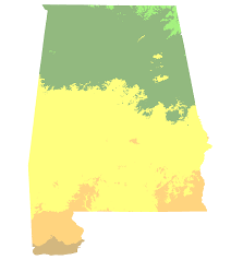 alabama zone map baldwin county alabama hardiness zones