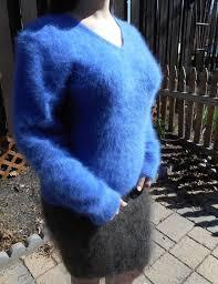 angora sweater fuzzy fluffy soft large xl angora