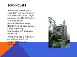 types of homes in new york