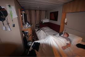 solstice triple cabin cruise critic message board forums this is a c2 concierge class room actually made up as a quad share the 4th bed is the trundle bed pulled out from under the sofa