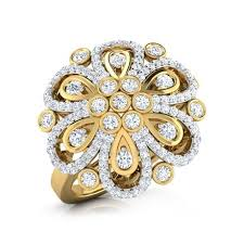 diamond studded grand diamond studded ring jewellery india online caratlane