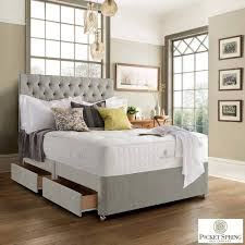 Divan Bed Set Pocket Bed Company Netherfield Divan Bed Set With 4 Drawers