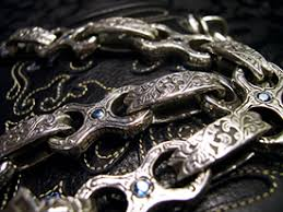 custom silver jewelry custom leather and silver the official will cascio heavy magic