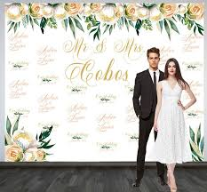 wedding backdrop personalized wedding photo backdrop custom wedding backdrop personalized