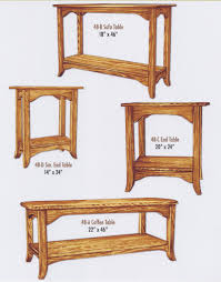 amish crafted occasional tables page 1