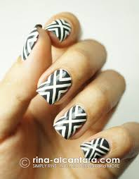 line design for nails how you can do it at home pictures