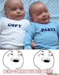 Meme Copy And Paste - copy paste by partyparty meme center