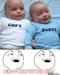 Copy And Paste Meme Faces - copy paste by partyparty meme center