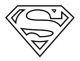 drawing superman symbol draw superman logo step step
